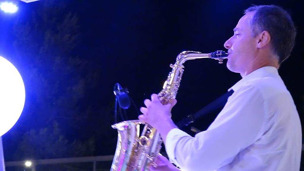 One Man Sax