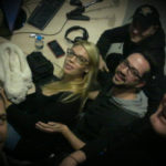 Οι Fabulous & The Pretty Brass μαζι με τον Μάκη Χάιτα μετά από την συνέντευξη στο δημοτικό ραδιόφωνο Θεσσαλονίκης FM 100 στον Φώτη Φερενίδη